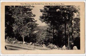 Vista  Showing Lake Garfield, Otis Road, Monterey MA