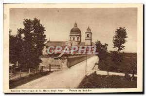 Postcard Old Patriarchal Basilica di S. Maria degli Angeli Veduta da Southeast