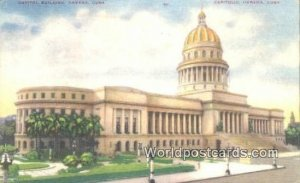 Capitol Bldg Havana Cuba, Republica De Cuba 1941