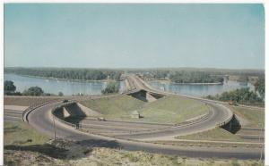 New South End Bridge, Springfield, Mass, unused Postcard