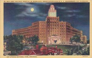New Army And Navy Hospital By Moonlight Under Supervision Of U S Government H...