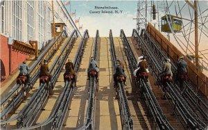 The Steeplechase, Steeplechase Park Coney Island, NY, USA Amusement Park 1919
