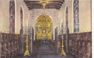 St Francis Chapel Mission Inn Riverside California Handcolored Albertype