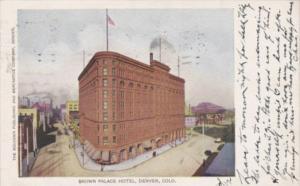 Colorado Denver The Brown Palace Hotel 1906