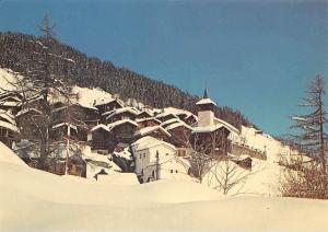 Switzerland Grimentz Valais Vue generale, Winter General view