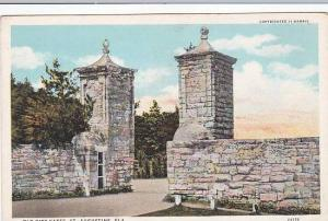 Florida Saint Augustine Old City Gates