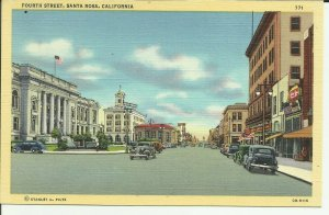 Fourth Street, Santa Rosa, California