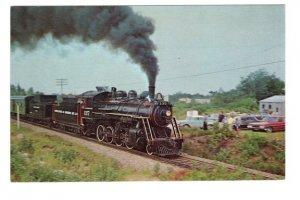 Temiskaming & Northern Ontario Railway Train, North Bay, Ontario,