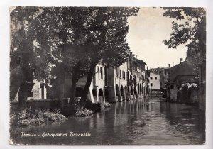 Treviso, Sottoportico Buranelli, unused real photo Postcard