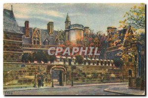 Old Postcard Paris Le Musee de Cluny