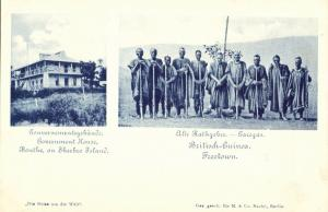 british guinea, FREETOWN, Native Council, Government House Bonthe Sherbro Island