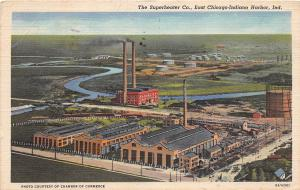 Indiana In Postcard 152 INDIANA HARBOR East Chicago THE SUPERHEATER COMPANY