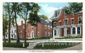 St. Mary's School Concord NH Unused
