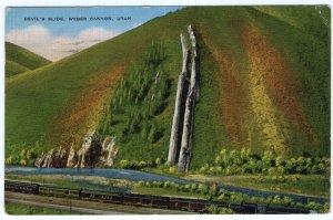 Devil's Slide, Weber Canyon, Utah