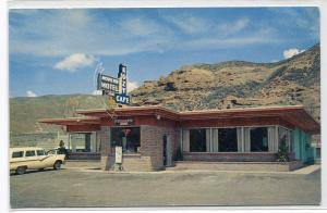 Kozy Cafe & Motel Echo Utah postcard