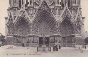 France Reims Cathedrale Le grand Portail