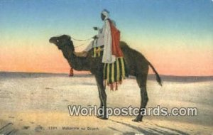 Mehariste au Desert Eqypt Unused