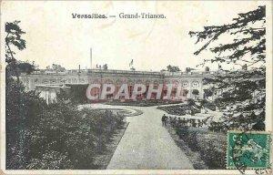 Old Postcard Grand Trianon Versailles