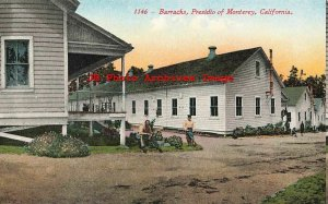 CA, Monterey, California, Presidio Barracks, Mitchell No 1146