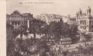 ORAN, Algeria, 1900-1910´s; Place Du Marechal Foch