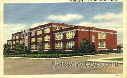 Hagerstown High School Hagerstown MD Unused