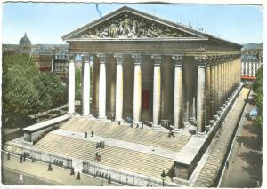 France, Eglise Sainte-Madeleine, Paris, unused Postcard