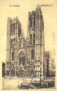 St Gudule Bruxelles, Belgium Unused