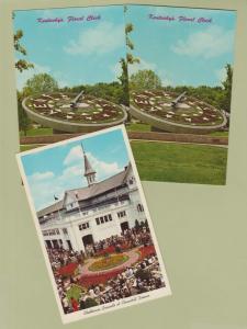 Postcards Kentucky's Floral Clock Churchil Downs Louisville Frankfort