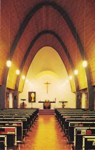 WINNIPEG , Manitoba , Canada , 50-60s ; St Benedicts Priory Chapel