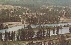 General view of Golden, B.C., Canada, 40-60s