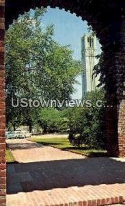 NC State University Raleigh NC Unused