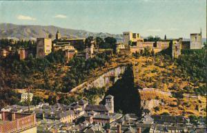 Spain Granada Alhambra General View
