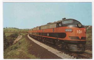 Bessemer & Lake Erie 725 Railroad Train postcard