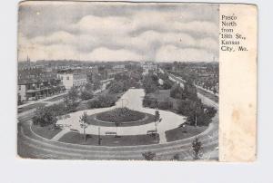 ANTIQUE POSTCARD MISSOURI KANSAS CITY PASCO NORTH FROM 18TH ST UNDIVIDED BACK