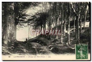 Old Postcard The Viscount Avenue to Port Nican