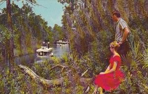 Florida Weeki Wachee SpringThe Beautiful And Primitive Weeki Wachee River Whi...