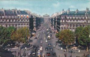 France Paris L'avenue de l'Opera Photo