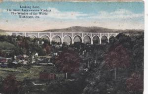 Looking East, The Great Lackawanna Viaduct, The Wonder Of The World, Nicholso...