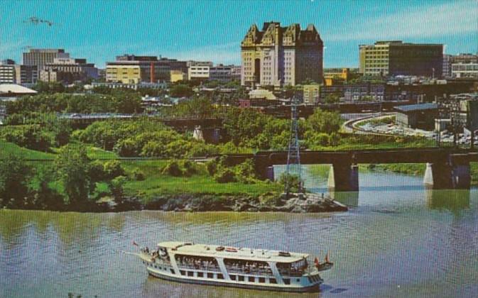 Canada Winnipeg Panoramic View