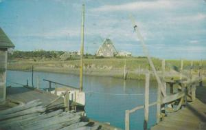 Windmill At Old Mill-Point, West Harwich, Massachusetts, PU-1968
