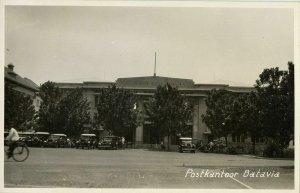 indonesia, JAVA BATAVIA, Postkantoor, Post Office (1920s) RPPC Postcard