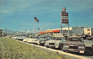 Colorado Springs CO Jim Carlin Dodge Dealership Postcard