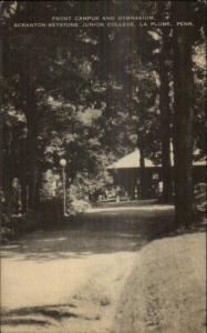 LaPlume La Plume PA Scranton-Keystone Junior College Postcard