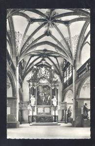 RPPC HEIDELBERG SCHLOSSKAPELLE GERMANY CASTLE CHAPEL OLD REAL PHOTO POSTCARD