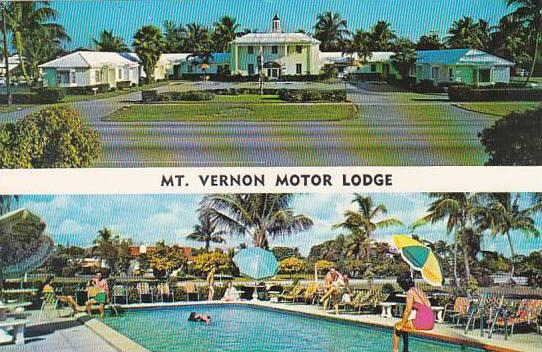 Florida Miami Mount Vernon Motor Lodge with Pool