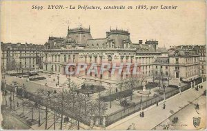 Old Postcard Lyon Prefecture Built in 1885 by Louvier