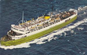 C.N.R. Car Ferry Abegweit, From Cape Tormentine, New Brunswick to Borden, Pri...