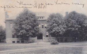ANN ARBOR, Michigan, PU-1907; Tappan Hall, U of M