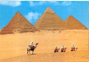 Kheops, Khephren, & Mykerinos Pyramids - Egypt