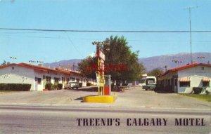 TREEND'S CALGARY MOTEL East Ramsey Street BANNING, CA.